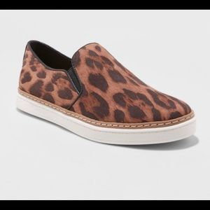Lilly Leopard Print Twin Gore Sneakers - A New Day